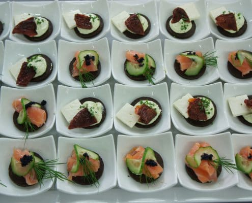 Sommerkorn Catering & Partyservice München - Fingerfood Canapés, Catering München